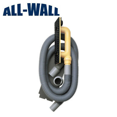 Hyde Dust Dog Dustless Drywall Hand Sanding Kit - Attaches To Any Shop Vacuum