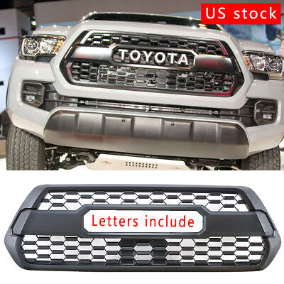 NEW Front Bumper Tacoma Grille TRD PRO 2016 2017 Grill US Black  FitsTacoma