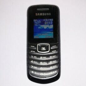 ABSOLUTE BARGAIN Samsung GT-E1080i Simple Mobile Phone Unlocked E1080i + Charger