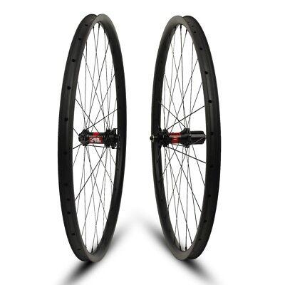 ef9a9f3700a Super Light 29er Carbon wheelset 24mm wide Mountain bike wheels with DT240S  hub