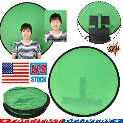 Green Backdrop Photography Background Screen Portable Photo Video Studio QF