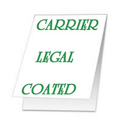 Carrier Sleeves For Laminating Laminator Pouches Legal Size Coated 5 Pk