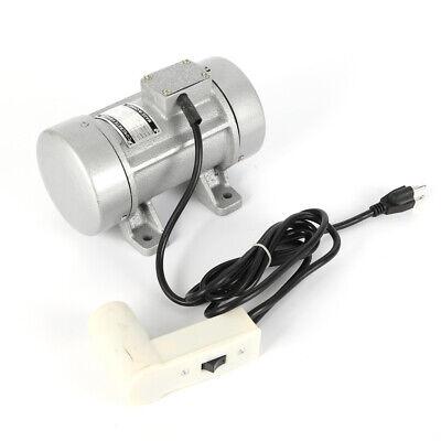Concrete Vibrator Motor Electric Shaker Table Vibrating Motor 0.28kw 300kgf 110v
