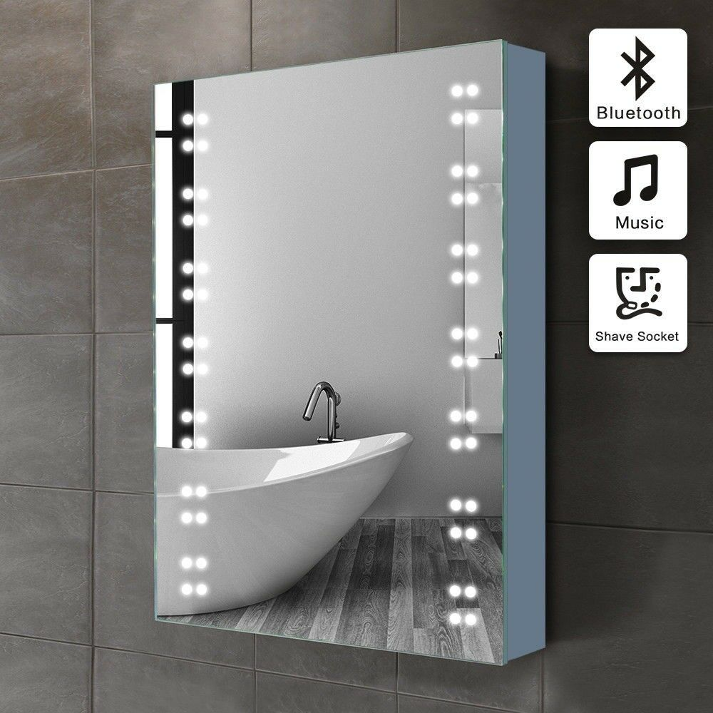 Bathroom Mirror Bluetooth