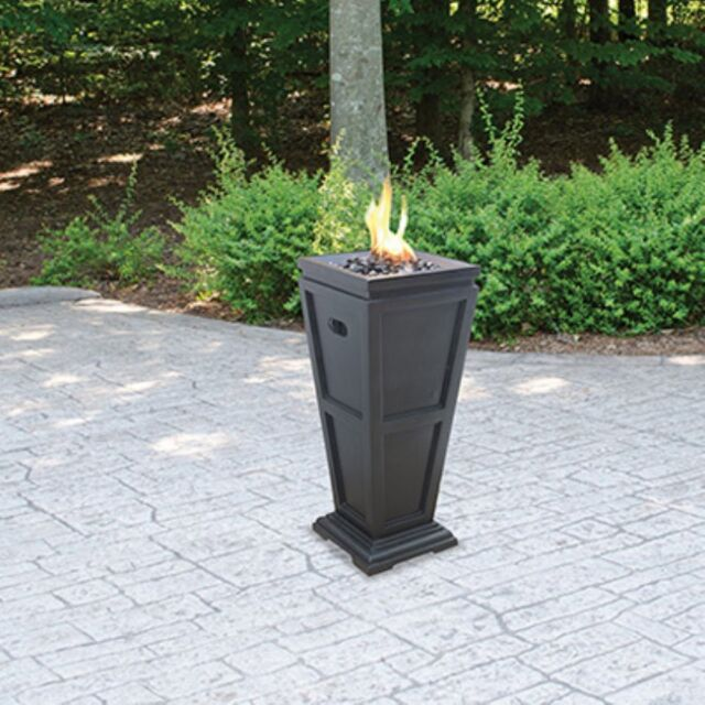 UniFlame Endless Summer GLT1332SP LP Gas Outdoor Fireplace Medium ...