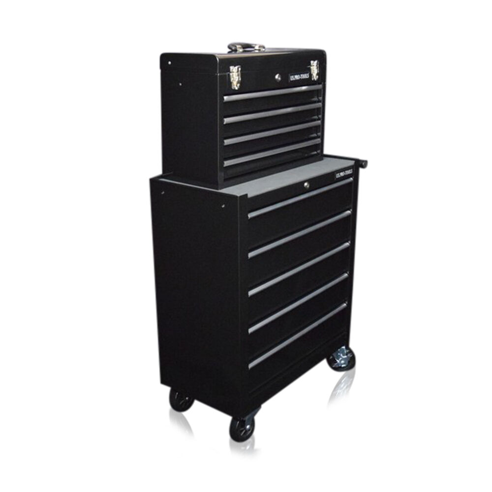 335 Us Pro Tools Black Affordable Tool Chest Rollcab Steel