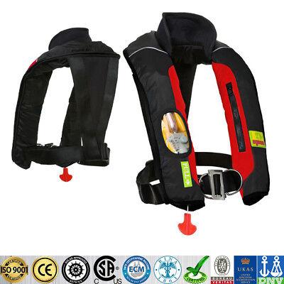 Adult Manual Inflatable Universal Life Jacket Sailing Boating Fishing Vest