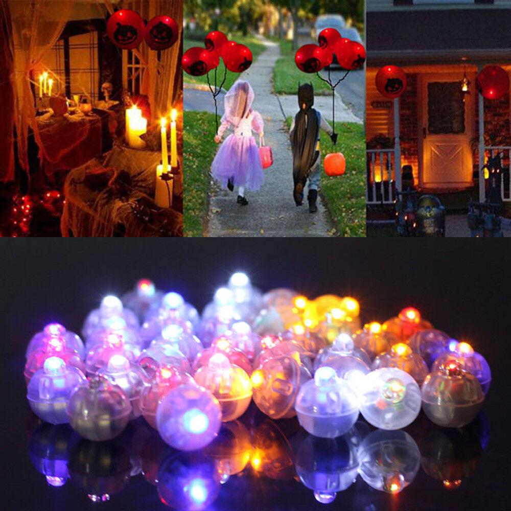 Mini LED Balloon Lamp Light Christmas Party Birthday Halloween Decoration 25PCS