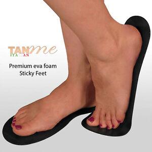 25 Pairs Spray Tan Sticky Feet High quality foam feet for spray Tanning