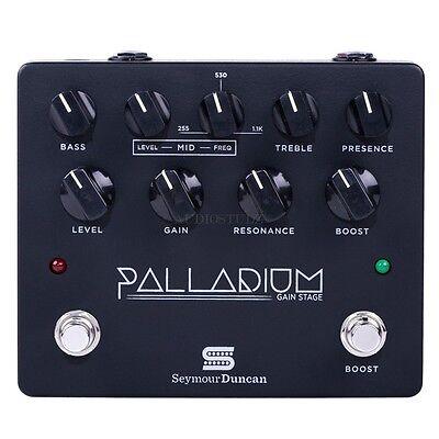 Seymour Duncan Palladium Gain Stage Gtr Efx pedal blk 11900009B 800315040902 NEW