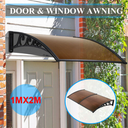 New Diy Canopy Window Door Awning Patio Uv Rain Outdoor