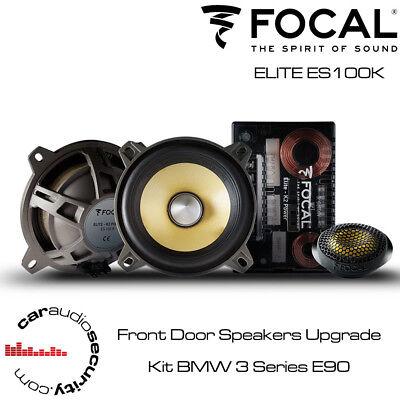 FOCAL ES100K Component Car Speakers - Door Speaker Upgrade Kit BMW 3...