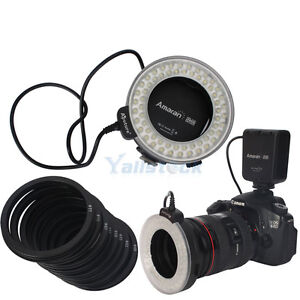 1X Aputure LED N-60 Macro Ring Flash Light for Nikon D90 D7000 D5100 D3100 D3200