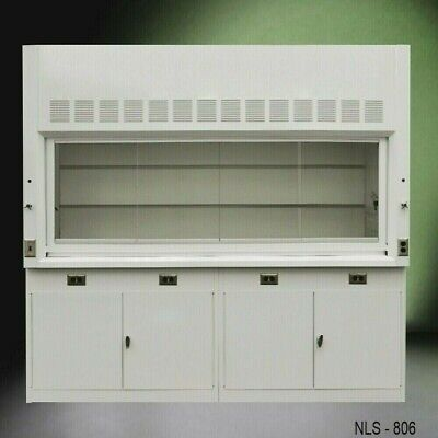 8 Ft Laboratory Bench Fume Hood W Storage Medical Safety Furniture E2-004
