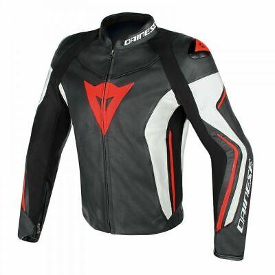 Dainese Assen Leather Jacket Mens Motorcycle Motorbike