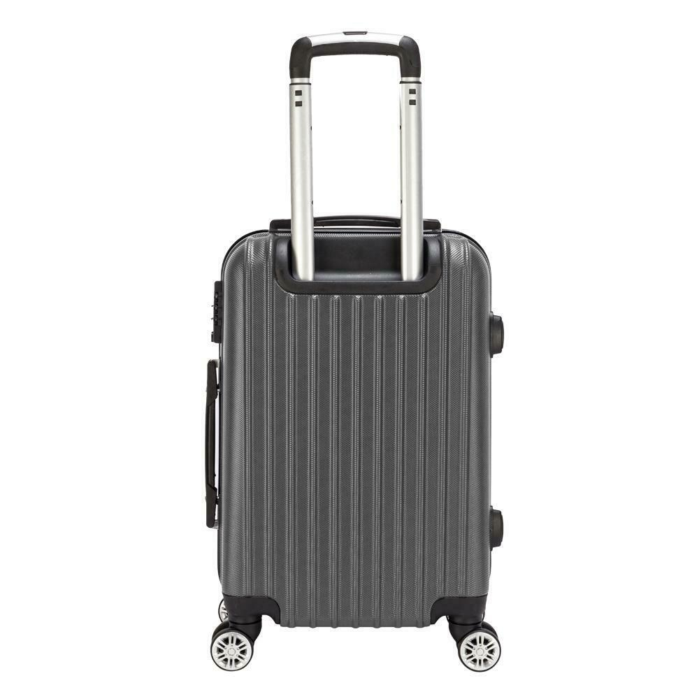 20 inch Spinner Luggage Travel Business Suitcase Bag Rolling