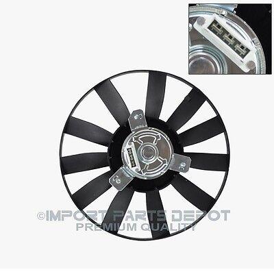 Auxiliary Cooling Fan Motor Left VW Volkswagen Cabrio Golf Jetta 1H0455K
