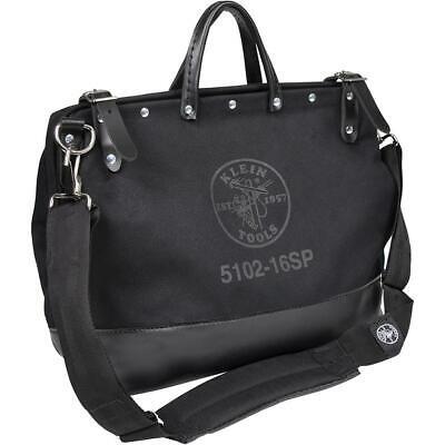 Klein Tools-5102-16SPBLK Deluxe Black Canvas Tool Bag, 16-Inch Klein 16 Canvas Tool Bag