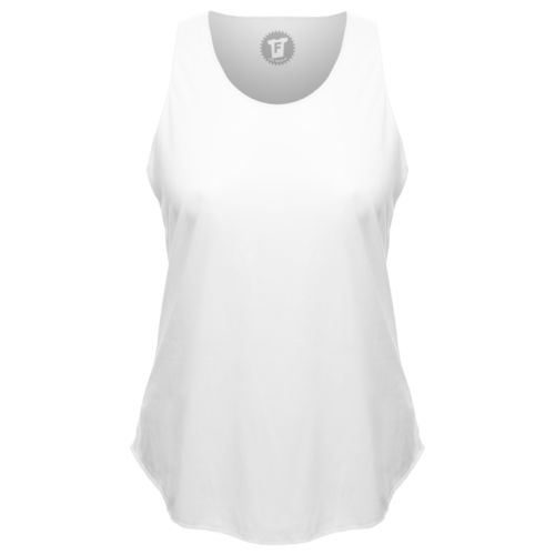FABTEE – Lady Loose Tank Top Shirt mit rundem Bund Urban Fashion Mode Frauen