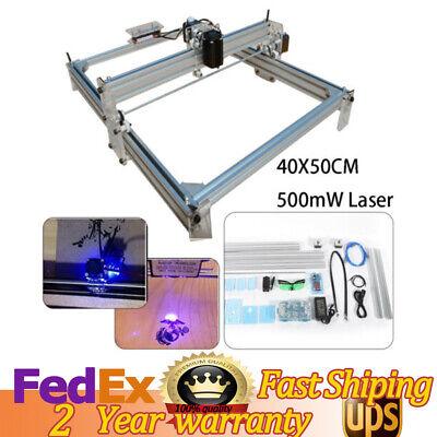 Mini Desktop Milling Wood Cutter Printer Laser Cnc Router Engraver Machine 500mw