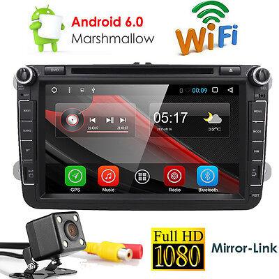 For VW Golf 5 6 MK5 Passat CC EOS Jetta Android 7.1 Car DVD Player Radio GPS OBD