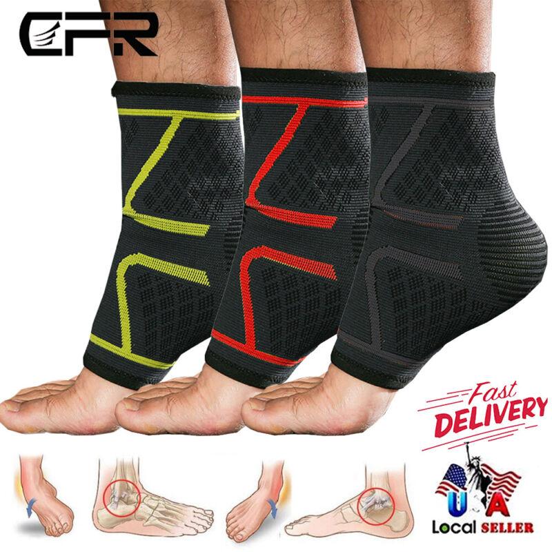 Ankle Brace Support Achilles Tendon Wrap Sleeve Socks Adjust