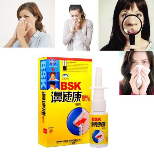 Health Herb Chinese Medicine Nose Itch Sinusitis Nasal Sprays Chronic Rhinitis