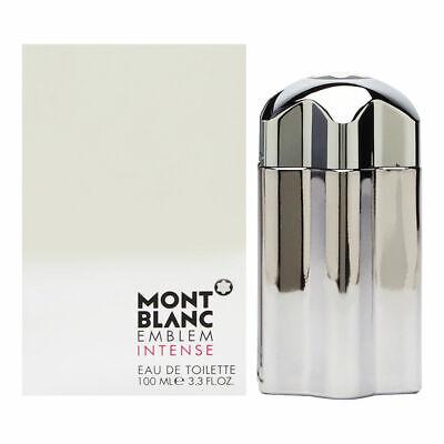 Mont Blanc Emblem Intense 3.4oz - Brand New, Opened Box