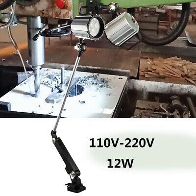 12w Milling Machine Led Light White Light 6000-6500k Cnc Bench Work Lighting Top
