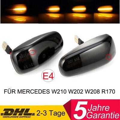 DYNAMISCHE LED SEITENBLINKER BLINKER FÜR MERCEDES-BENZ W210 W208 R170 Vito W638