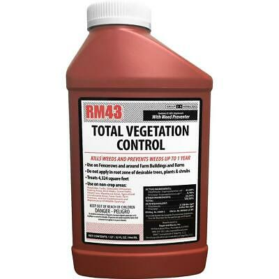 RM43 32 oz.Total Vegetation Control, Weed Killer and Preventer Concentrate