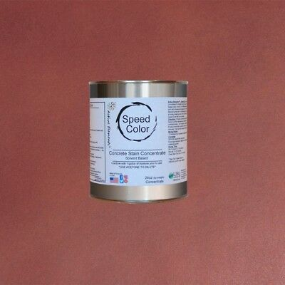 Fast Drying Concrete Paint 24oz Concentrate Yields 1 Gal Antique Brick Color