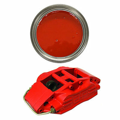 RED Brake Caliper Drum Heat Resistant Paint Ferrari Rosso 250ml - FREE DELIVERY