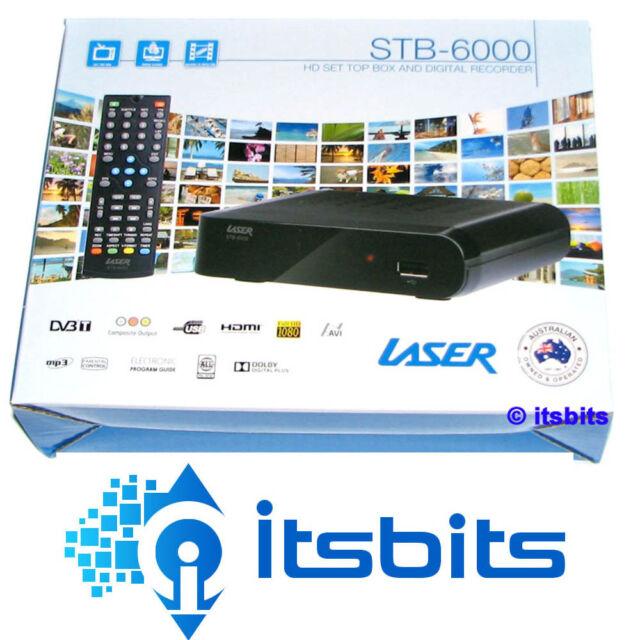 LASER STB-6000 HD DIGITAL RECORDER AND SET TOP BOX HDMI & COMPOSITE + REMOTE