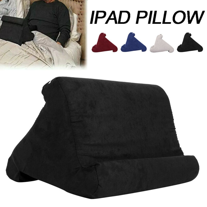Tablet Pillow Multi-Angle Holder Stand Foam Reading Bed Supp