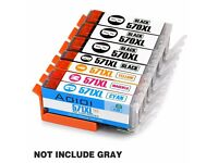 Ink Cartridges Replacement for Canon PGI-570XL CLI-571XL