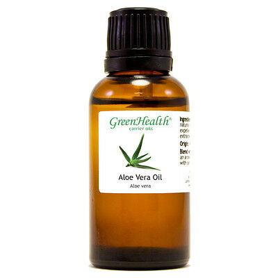 1 Fl Oz Aloe Vera Carrier Oil  100  Pure   Natural    Greenhealth
