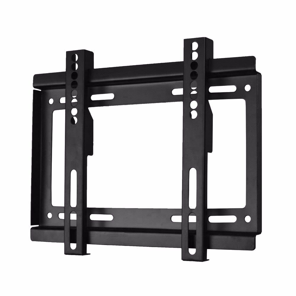 """TV WALL BRACKET MOUNT FIXED 17"""" - 37"""" WITH ALL FIXINGS NEW"""