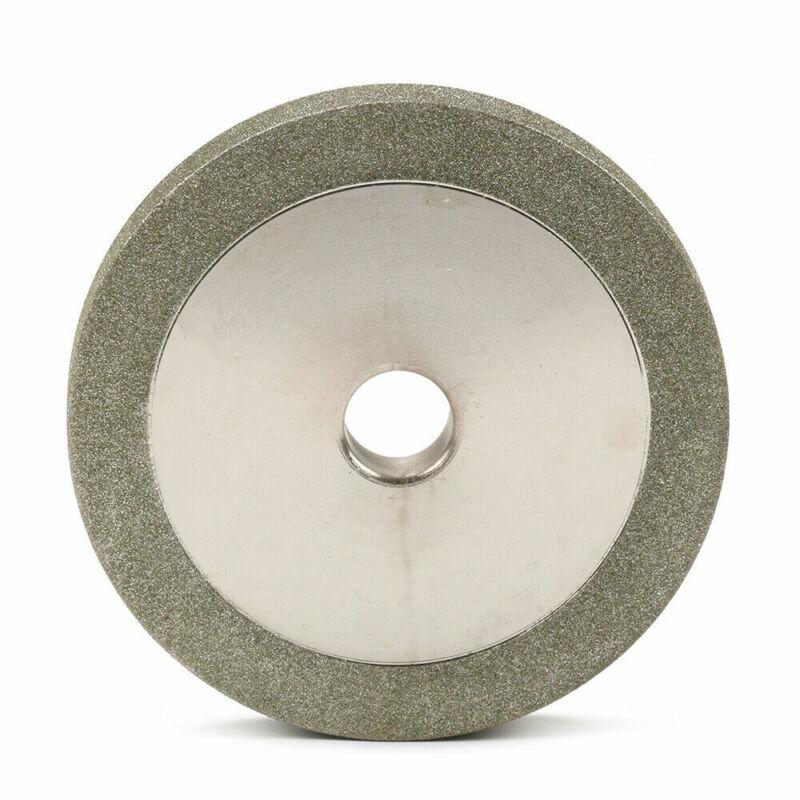 "3"" Diamond Grinding Wheel Electroplate Abrasive Tool For Hard Alloy 1/2"" Hole"