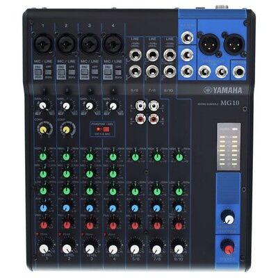 YAMAHA MG10 mixer audio professionale 10canali Xstudio live karaoke GARANZIA ITA, usato usato  Italia