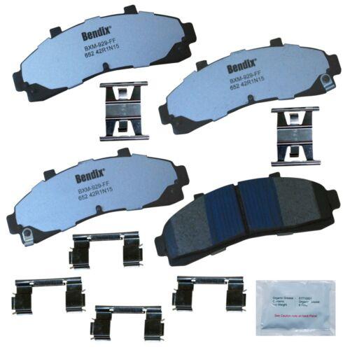 Bendix MKD698FM Fleet MetLok Brake Pad Set