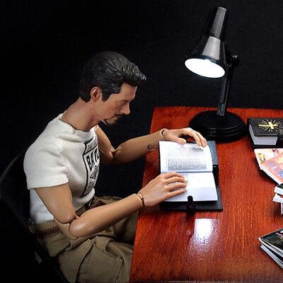 "1/6 Scale Mini Desk Lamp Model For 12"" Action Figure"