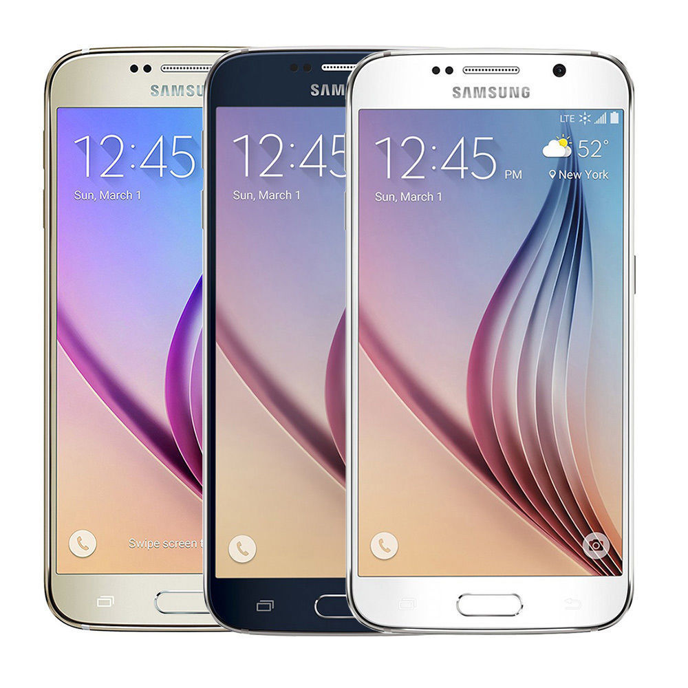 $139.98 - Samsung Galaxy S6 32GB (Verizon / Straight Talk / Unlocked ATT GSM) Gold White
