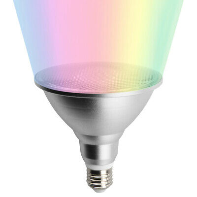 20W RGB LED PAR38 Floodlight Dimmable Colored Spotlight Bulb with Remote Control