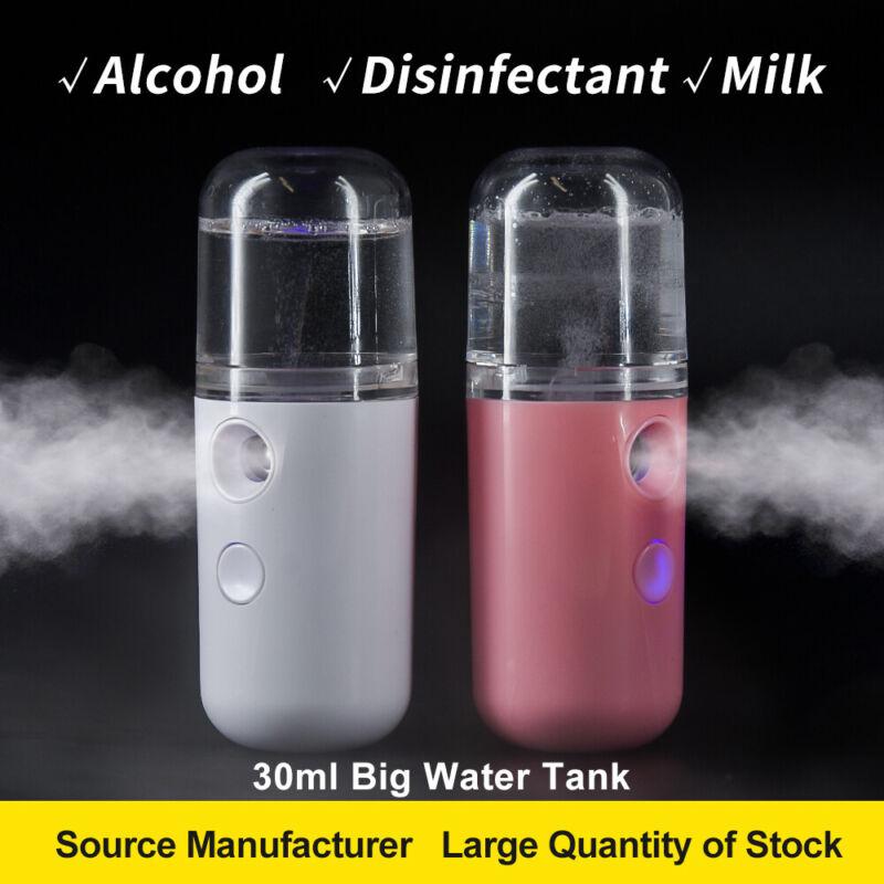 Portable Mini USB Pore Facial Steamer Nano Mist Face Sprayer