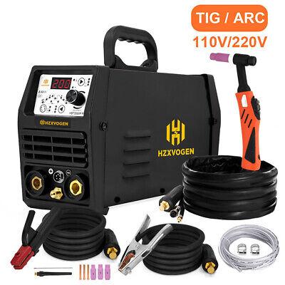 110v220v Tig200p Pulse Tig Welder 200a Arc Stick Mma Inverter Welding Machine