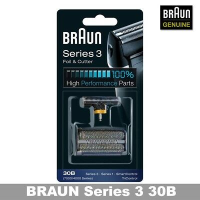 BRAUN 30B Combi Foil And Cutter Replacement Pack (7000/4000 Series) Cutter Combi Pack