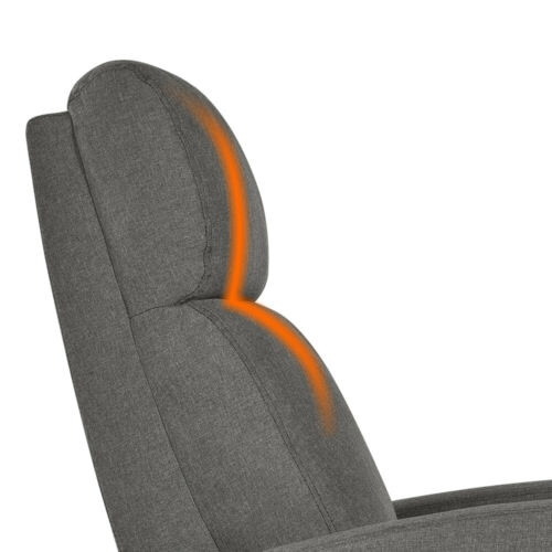 Fabric Recliner Chair Single Modern Sofa Seating for Living