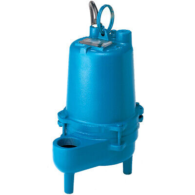 Barnes Se411a - 410 Hp Cast Iron Sewage Pump W Pipe-mount Tether Float
