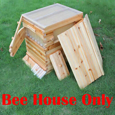 Automatic Harvest Honey Beekeeping Wooden Bee House Box